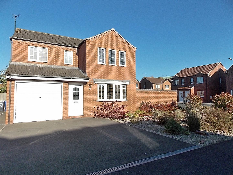 4 Bedrooms Detached House for sale in Hoselett Field Road, Long Eaton